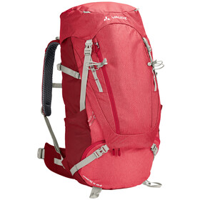 VAUDE Asymmetric 48+8 Backpack Women indian red